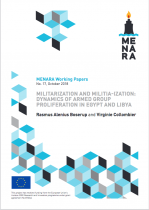 """""""Militarization and militia-ization: dynamics of armed groups proliferation in Egypt and Libya"""".."""