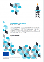 """The Libyan Security Continuum: the impact of the Libyan Crisis on the North African/Sahelian regional system"".."