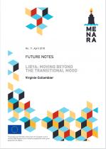 """Libya: moving beyond the transition mood"".."